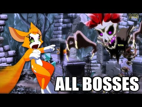 Dust: An Elysian Tail - All Bosses (With Cutscenes) HD 1080p60 PC