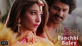 panchhi bole romantic song baahubali the beginning prabhas tamannaah