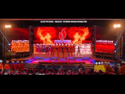 Múa tương tác_Lễ kỷ niệm 40 năm thành lập Tập đoàn Petro Vietnam