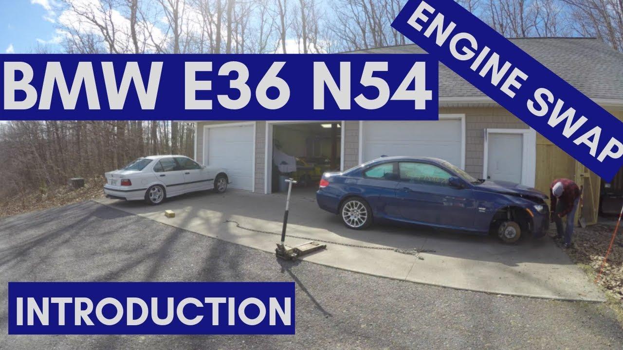 E92 N54 Engine Swap Build into E36! - BMW 3-Series (E90 E92