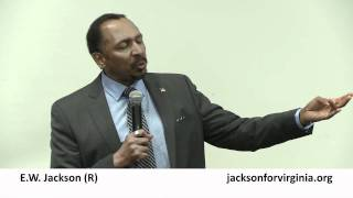 E.W. Jackson (R) on Running in US Senate Race