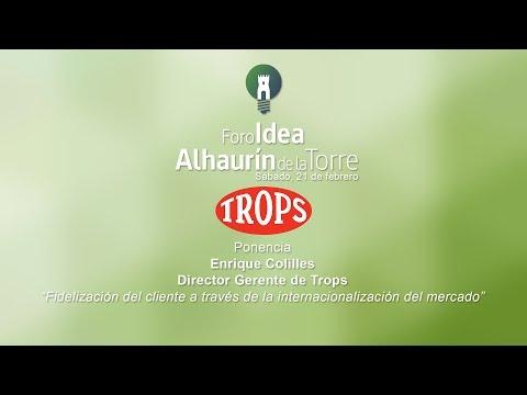 Ponencia Trops en Foro Idea 2015