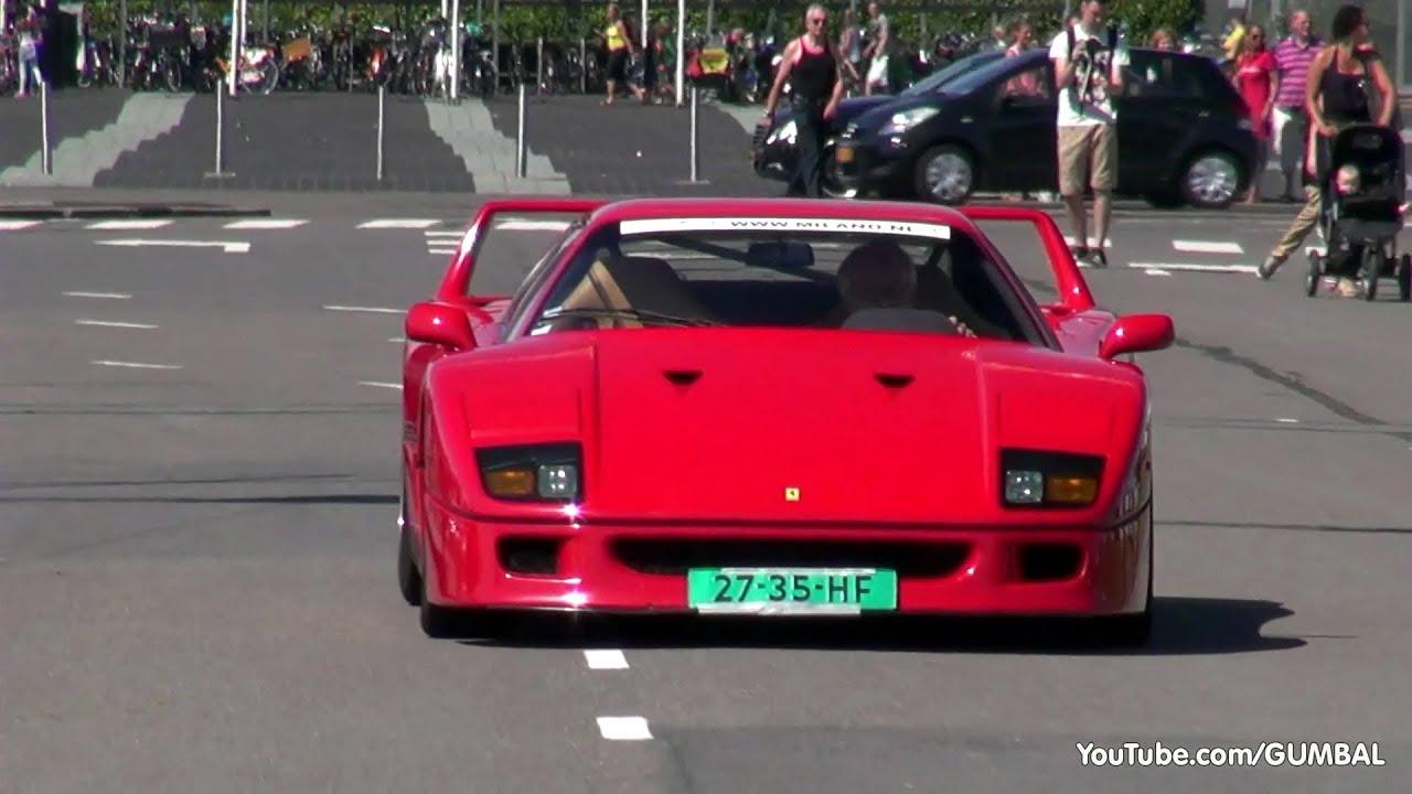 Ferrari F40 - Engine sounds! - YouTube