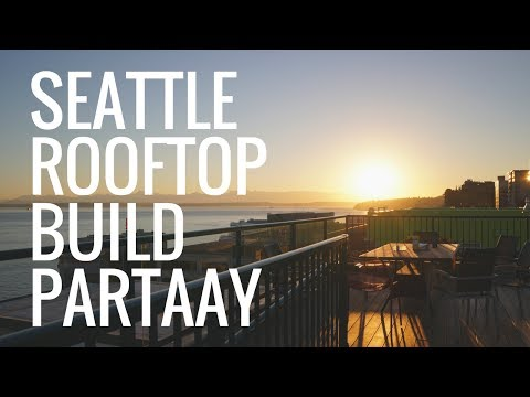 Building Mechanical Keyboards on a Seattle Rooftop!