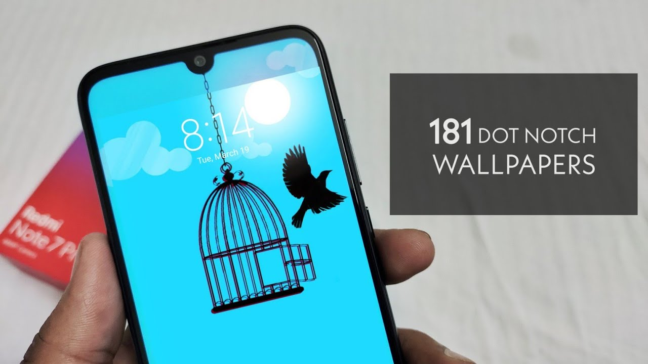 Best 181 Dot Notch Wallpapers For Redmi Note 7 Pro Hide Your Notch Youtube