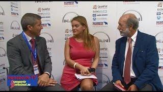 Javier Arnedo entrevistado por Javier Baranda en el XVI Congreso de la CETM