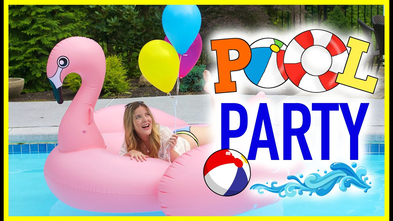 Dicas para arrasar na sua pool party receitas e diy - How to make a pool party ...