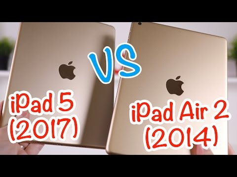 Test de l'iPad 5 (2017) vs iPad Air 2