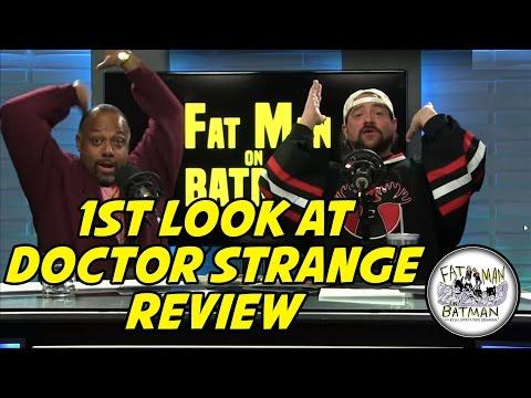 1ST LOOK AT DOCTOR STRANGE - FAT MAN ON BATMAN 006