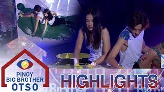 PBB OTSO Day 8: Seth at Karina, sumalang sa 88 second dance art challenge