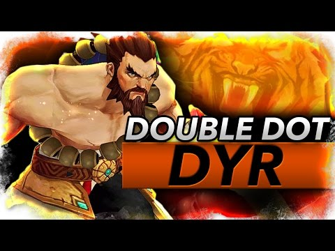 DOUBLE DOT DYR - TIGER DYR BROKEN! - Trick2G