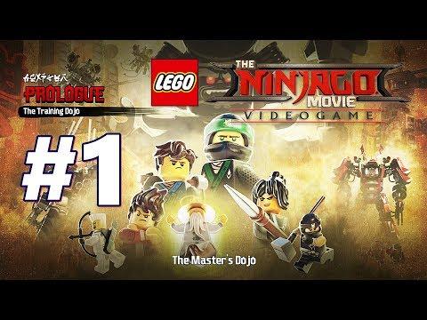 LEGO NINJAGO Movie Video Game Walkthrough Part 1 Prologue - The Training Do jo (Master Chicken)