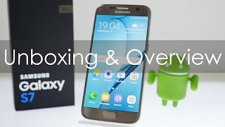 Samsung Galaxy S7 Unboxing & Overview Indian Retail Unit