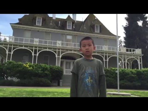 Kearney Mansion Museum, Fresno California (bonus footage)