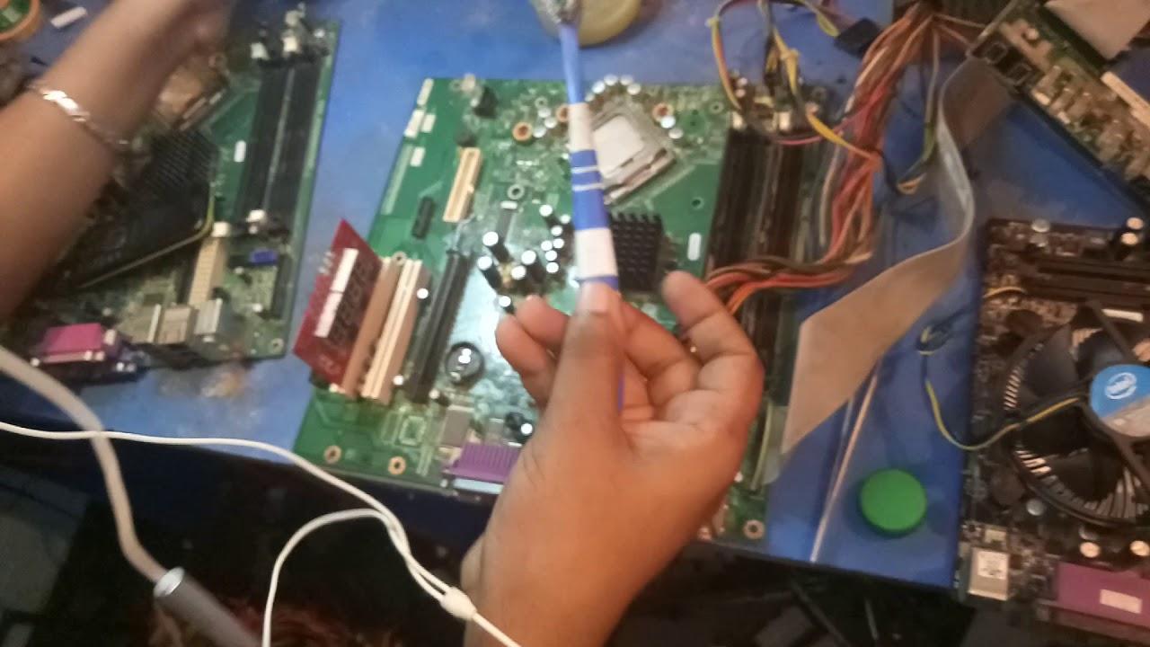 How to repair Dell desktop Motherboard No display | bios problem Fix |  Bangla tutorial