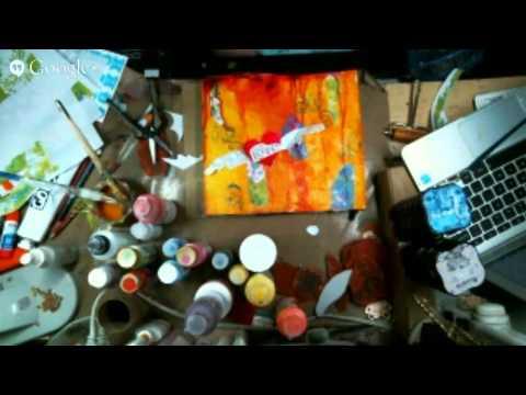 Art Journal using the Gelli Arts Gel Printing Plate