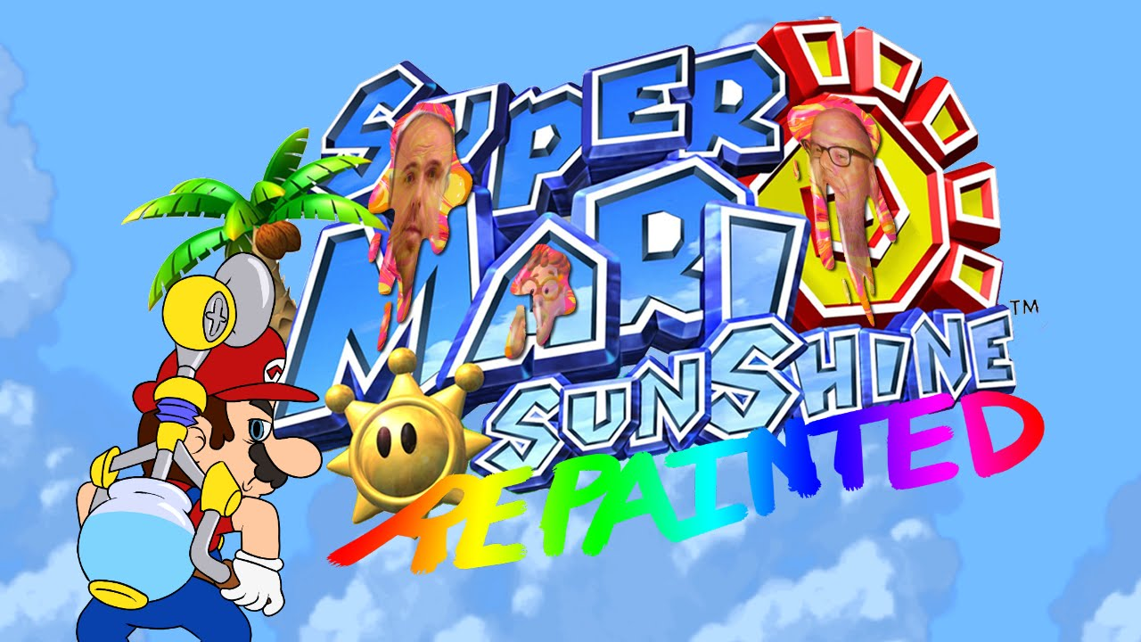 Super Mario Sunshine Repainted Highlights Part 1 Youtube