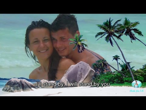 """""""Stand by You"""" by Marlisa with Lyrics on Screen"""