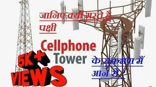 जानिए क्यों मरते है,पक्षी cell phone tower का संपर्क में आने से |birds die contact to mobile phone