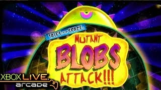Tales from Space: Mutant Blobs Attack - X360 XBLA Gameplay (XBOX 360 720P)