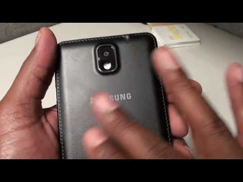 Samsung Galaxy Note 3 UnBoxing and First Impressions