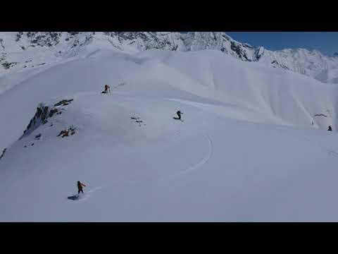 Ski and Splitboarding Touring in Ushguli, Svaneti, Republic of Georgia with Caucasus Nomad