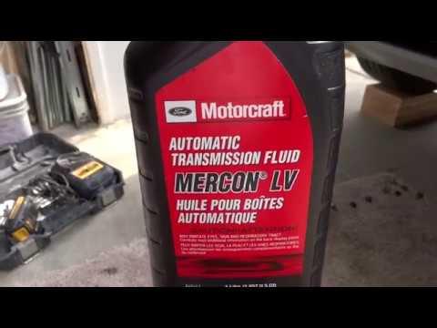 Ford Escape 2016 1 6 Ecoboost Transmission Oil Change Izmjena Ulja Na