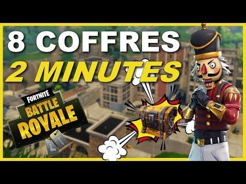 TUTO► 8 COFFRES EN 2 MINUTES À TILTED TOWERS !! - FORTNITE BATTLE ROYALE