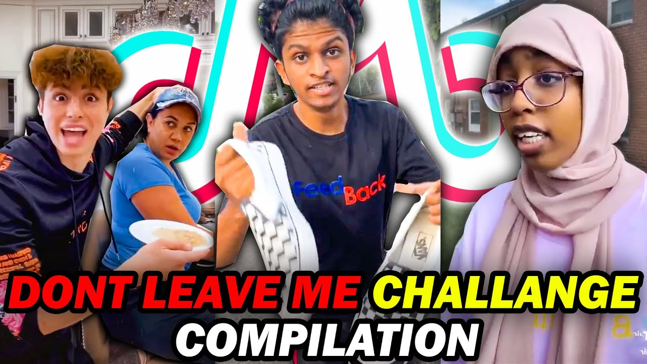 27 minutes of dont leave me challenge😂🍟