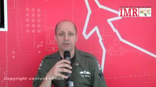 Aero India 2015 Day 2 Video 2 Interview with Paul Smith Eurofighter