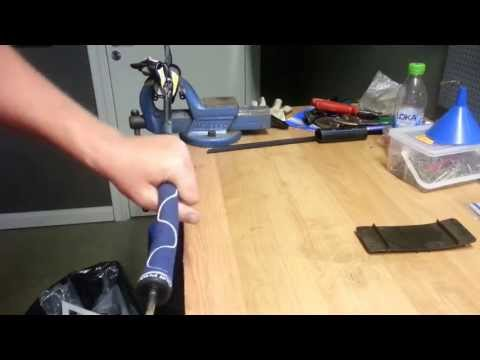 replace-golf-grip-using-compressed-air