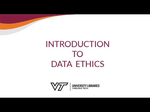 Introduction To Data Ethics
