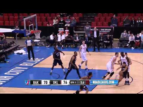 HIGHLIGHTS: Oklahoma City Blue (110) Defeat Bakersfield Jam (100)