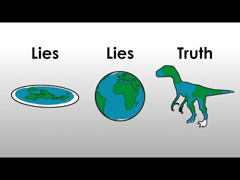 5 Reasons why Earth is Dinosaur Shaped