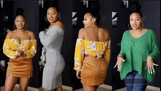 SLIM THICK TRY-ON HAUL | (FREE) Romwe Dressed Me! | Black Friday Steals