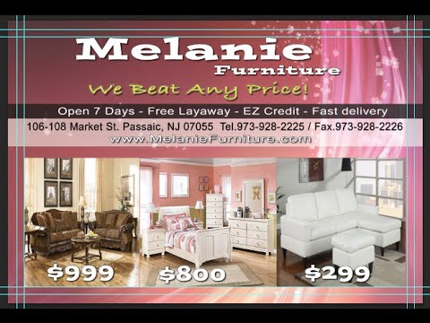 Melanie Furniture Passaic,NJ  TV Spot EnDirecto Mundo Fox