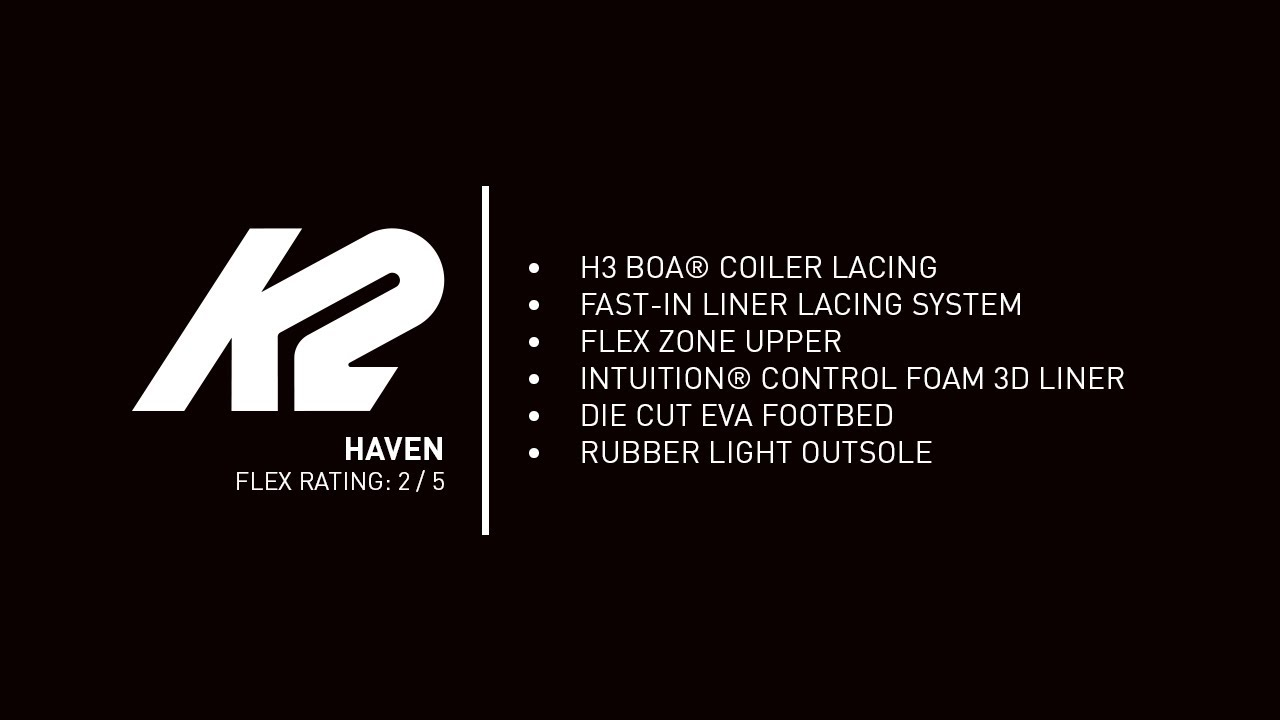 K2 Haven Boot | 2020 Snowboard Boots