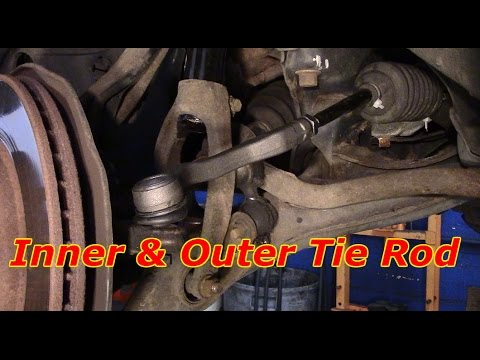 How To Change Inner And Outer Tie Rods Youtube