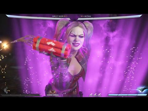 Injustice 2 - Todos los ataques especiales de los personajes (1080p 60fps)
