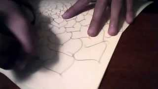 how to draw an ilusional flower step by step( no experience needed)