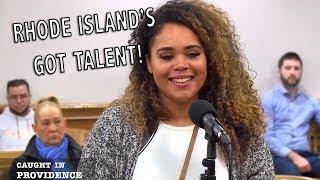 RHODE ISLANDS GOT TALENT &amp GIVING A VET A BREAK!