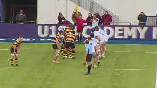 Wasps U18s vs Saracens U18s Highlights