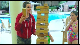 POOL PARTY JENGA!