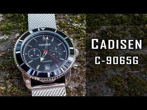 "Cadisen C-9065G quartz ""chrono"" ... review #205"