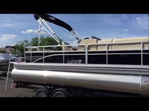 2015 Lowe SS232 Pontoon Boat-Fish and Ski on this Great 23' pontoon.
