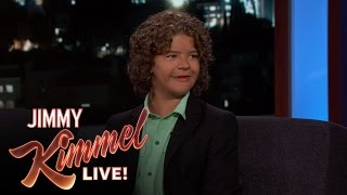 Gaten Matarazzo on Stranger Things