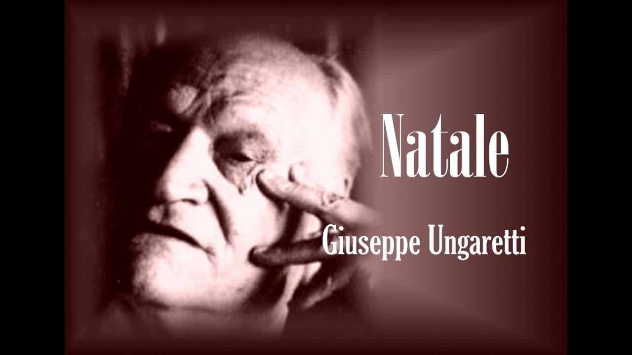 Poesia Di Natale Ungaretti.Natale Giuseppe Ungaretti Youtube