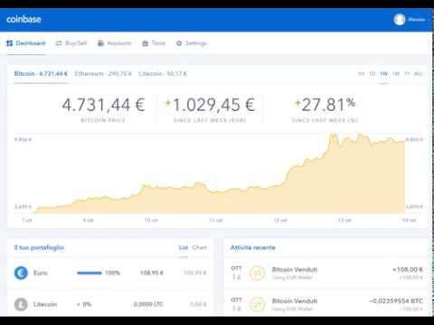 come prelevare da coinbase forex gratis €5