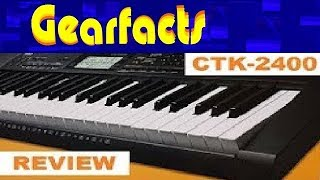 Casio CTK-2400 review in detail