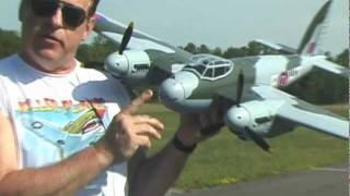 HC HOBBY MOSQUITO TWIN ENGINES TWIN CRASHES - PART 1